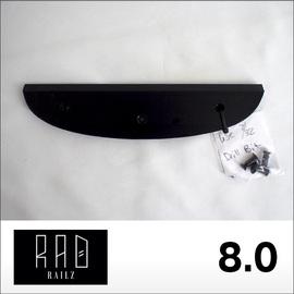 RAD RAILZ【ラッドレイルズ】テールガード TAIL SKID 8.0 (Black)