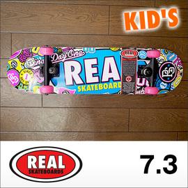 REAL【リアル】コンプリート スケートボード STICK EM UP MINI COMPLET 7.3×29