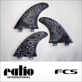 ratio【レイシオ】スピードフィン RS-FMS FCS(ブラックペーズリー)