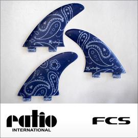 ratio【レイシオ】フィン RS-GB-3 FCS(ネイビーペーズリー)