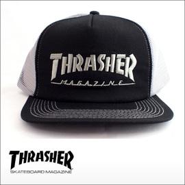THRASHER【スラッシャー】キャップ LOGO EMB MESH CAP
