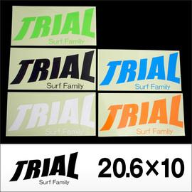 TRIAL【トライアル】ステッカー大 20.6×10