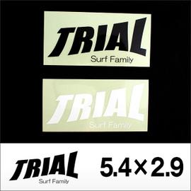 TRIAL【トライアル】ステッカー小 5.4×2.9