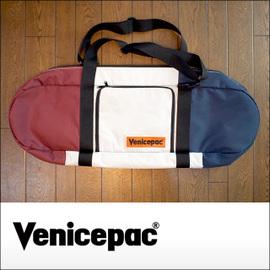VENICEPAC for LONG skateboard Deluxe カラーNavy/Red