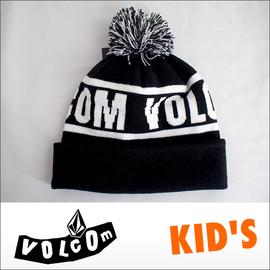 VOLCOM【ボルコム】子供用ビーニー BOARD BILL KID'S BEANE(BLK)