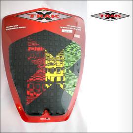 X-TRAK【エックストラック】デッキパッド BIG X BK/RASTA