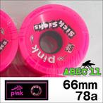PINK【ピンク】ウィール SickSicks (Pink) 66mm/78a
