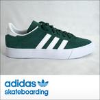 adidas skateboarding【アディダス スケートボーディング】スケシュー CAMPUS VULC2 ADV (Green/White/White)