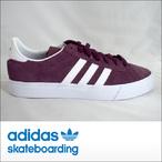 adidas skateboarding【アディダス スケートボーディング】スケシュー CAMPUS VULC II ADV (Maroon/White/White)
