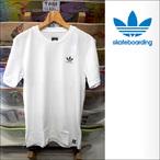 adidas skateboarding【アディダス スケートボーディング】Tシャツ CLIMA2.0 TEE (White)