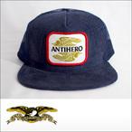 Antihero【アンタイヒーロー】キャップ AHXR TRKR(Navy)