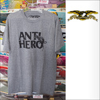 ANTIHERO【アンタイヒーロー】Tシャツ Doghump BLEND TEE (Grey Heather) サイズ:M