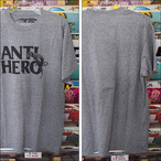 ANTIHERO【アンタイヒーロー】Tシャツ Doghump BLEND TEE (Grey Heather) サイズ:M