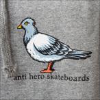 Antihero【アンタイヒーロー】パーカー Lil Pigeon HOOD (Gunmetal Heather) サイズ:M