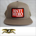 Antihero【アンタイヒーロー】メッシュキャップ Reserve Patch Trucker
