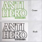 Antihero【アンタイヒーロー】ステッカー BLACKHERO OUTLINE
