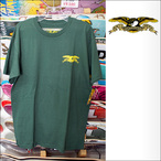 ANTIHERO【アンタイヒーロー】Tシャツ Stock Eagle TEE (Forest Green) サイズ:M