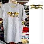 ANTIHERO【アンタイヒーロー】Tシャツ EAGLE ATHLETIC HEATHER