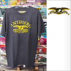ANTIHERO【アンタイヒーロー】Tシャツ Woodworks TEE (Black Heather) サイズ:M
