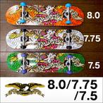ANTIHERO【アンタイヒーロー】コンプリート スケートボード EAGLE DEAD BLEED 7.5/7.75/8.0