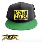 Antihero【アンタイヒーロー】キャップ RESERVE SNAP BACK Cap(Charcoal/Green)