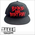 Baker【ベーカー】キャップ BAKE AND DESTROY SNAPBACK
