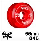 Bones【ボーンズ】ウィール SPF Pro Clear Red 56mm/84B