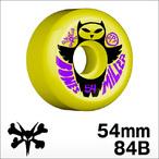 Bones【ボーンズ】ウィール SPF Pro Miller Owl (Yellow)54mm/84B