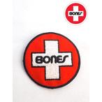 bones【ボーンズ】swiss circle ワッペン