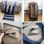 BRIXTON【ブリクストン】ダッフルパック Bixby Duffle Bag(Sepia)
