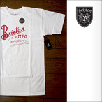 Brixton【ブリクストン】Tシャツ BANCROFT S/S TEE (STANDERD FIT) White