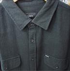 BRIXTON【ブリクストン】長袖シャツ DONEZ L/S FLANNEL(Black)サイズ:M