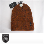 BRIXTON【ブリクストン】ビーニー HEIST BEANIE(Athletic Orange/Brown)
