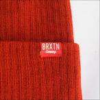BRIXTON【ブリクストン】ビーニー HOOVER BEANIE(Rust)