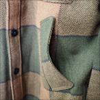 BRIXTON【ブリクストン】ジャケット Roth JACKET(Green Plaid))サイズ:S