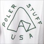 Poler Camping Stuff【ポーラーキャンピングスタッフ】ロンT TENT L/S TEE (White) サイズ:M