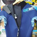 BeWET【ビーウェット】シーガル オリジナルカラー ネイビー×ネオンブルーライン 3/2mm サイズ:ML