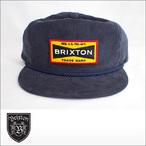 BRIXTON【ブリクストン】キャップ FUEL SNAPBACK(Navy)