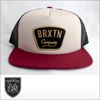BRIXTON【ブリクストン】メッシュキャップ GASTON MESH CAP (Gray/Burgundy)
