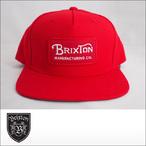 BRIXTON【ブリクストン】キャップ GRADE LYP SNAPBACK CAP (Red)
