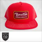 BRIXTON【ブリクストン】メッシュキャップ GRADE MESH CAP(Red)
