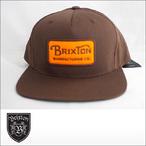 BRIXTON【ブリクストン】キャップ GRADE SNAPBACK(Brown)