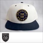 BRIXTON【ブリクストン】キャップ OATH3 SNAPBACK CAP (Off White/Navy)