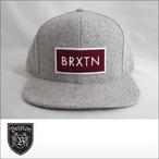 BRIXTON【ブリクストン】キャップ RIFT SNAPBACK CAP (Gray)