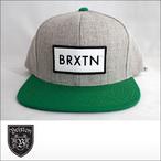 BRIXTON【ブリクストン】キャップ RIFT SNAPBACK(H Grey/Green)