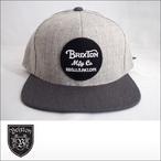 BRIXTON【ブリクストン】キャップ WHEELER SNAPBACK CAP (Lightheather Gray/Charcoal)