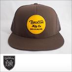 BRIXTON【ブリクストン】メッシュキャップ WHEELER MESH CAP(Dark Brown)