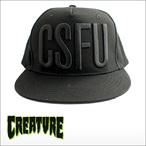 CREATURE【クリーチャー】メッシュキャップ  CSFU BLOCK CAP(Black)