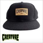 CREATURE【クリーチャー】キャップ LOGO WOOL CAP(Black)