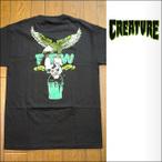 Creature【クリーチャー】Tシャツ S/S FTW BLACK